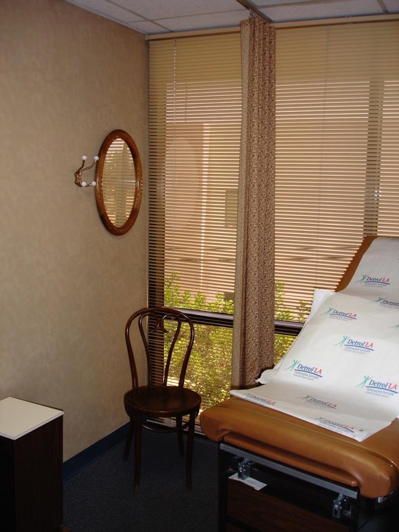 before-exam-room