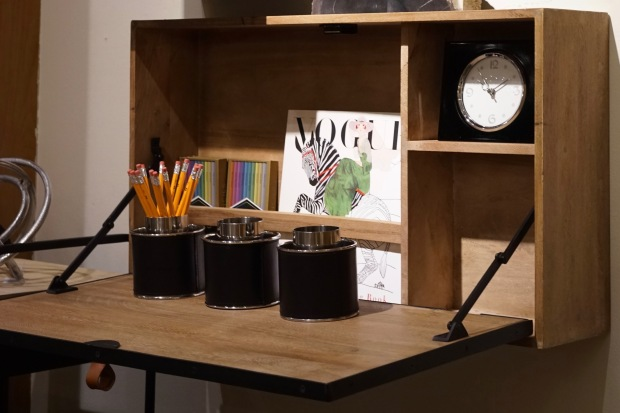 Pottery-Barn-Space-Saver-Wall-Mounted-Desk